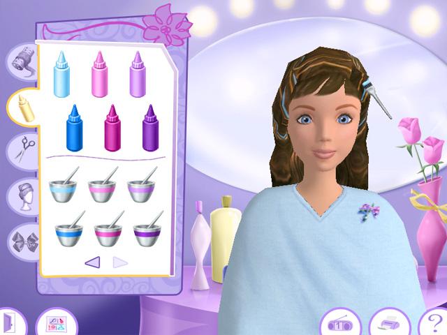 Игры Барби Салон Красоты