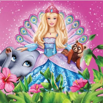 Барби в роли принцессы острова barbie as